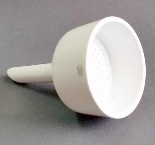 embudo porcelana